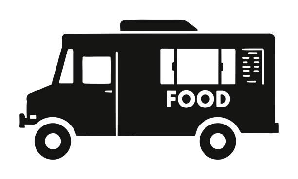 Food Truck vector art illustration