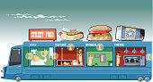 istock Food truck 1314206839