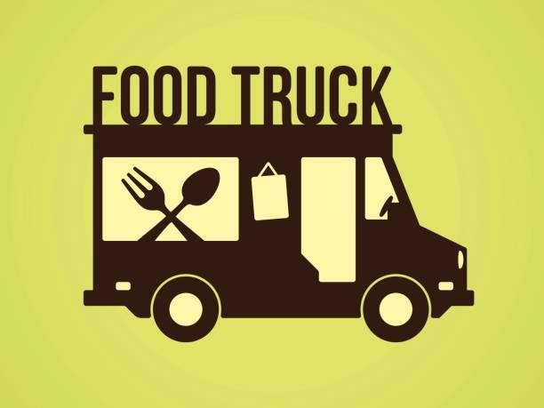 food truck - imbisswagen stock-grafiken, -clipart, -cartoons und -symbole