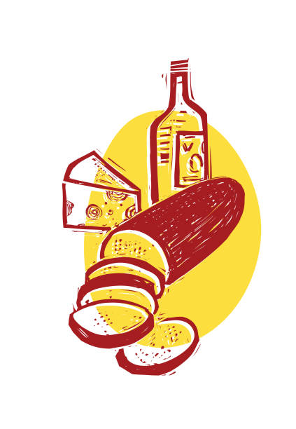 Best Deli Meat Illustrations, Royalty-Free Vector Graphics ...