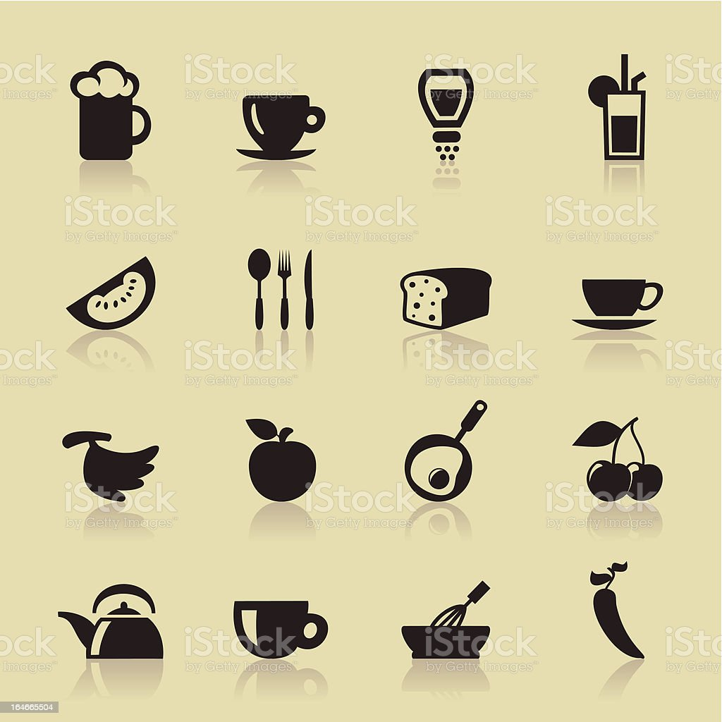 Food royalty-free food stock vector art & more images of alcohol
