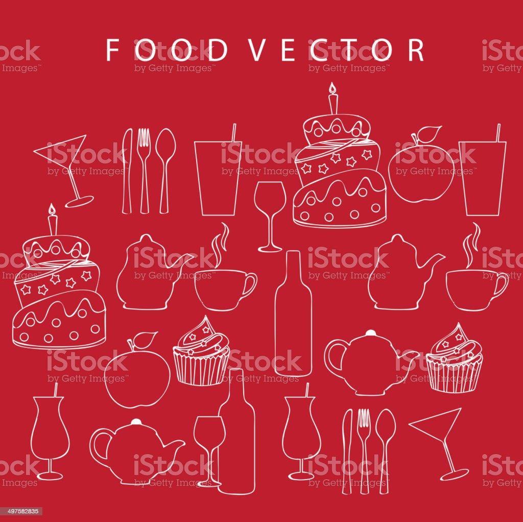 food vector royalty-free stock vector art