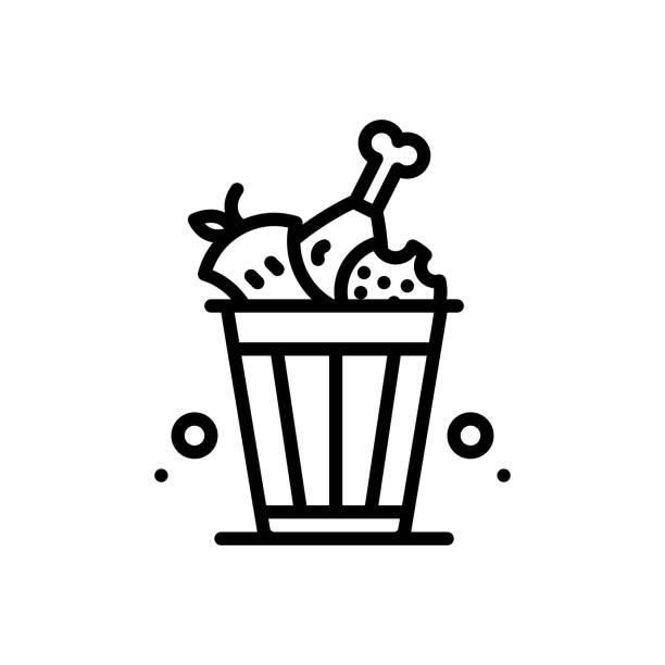 ilustraciones, imágenes clip art, dibujos animados e iconos de stock de residuos de alimentos - leftovers