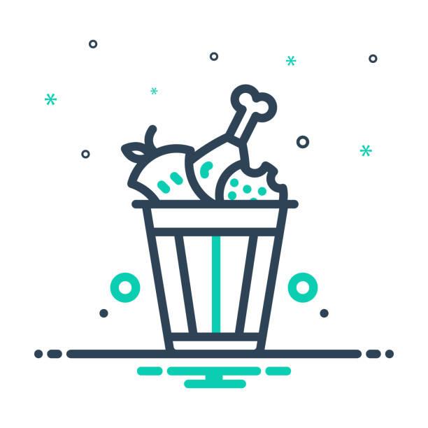 ilustraciones, imágenes clip art, dibujos animados e iconos de stock de desperdicio de alimentos - leftovers