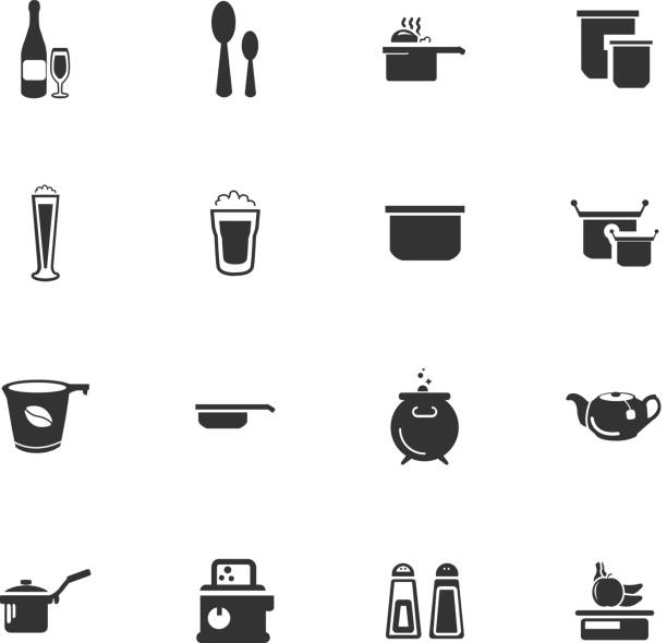food_and_kitchen_28 - newham stock-grafiken, -clipart, -cartoons und -symbole