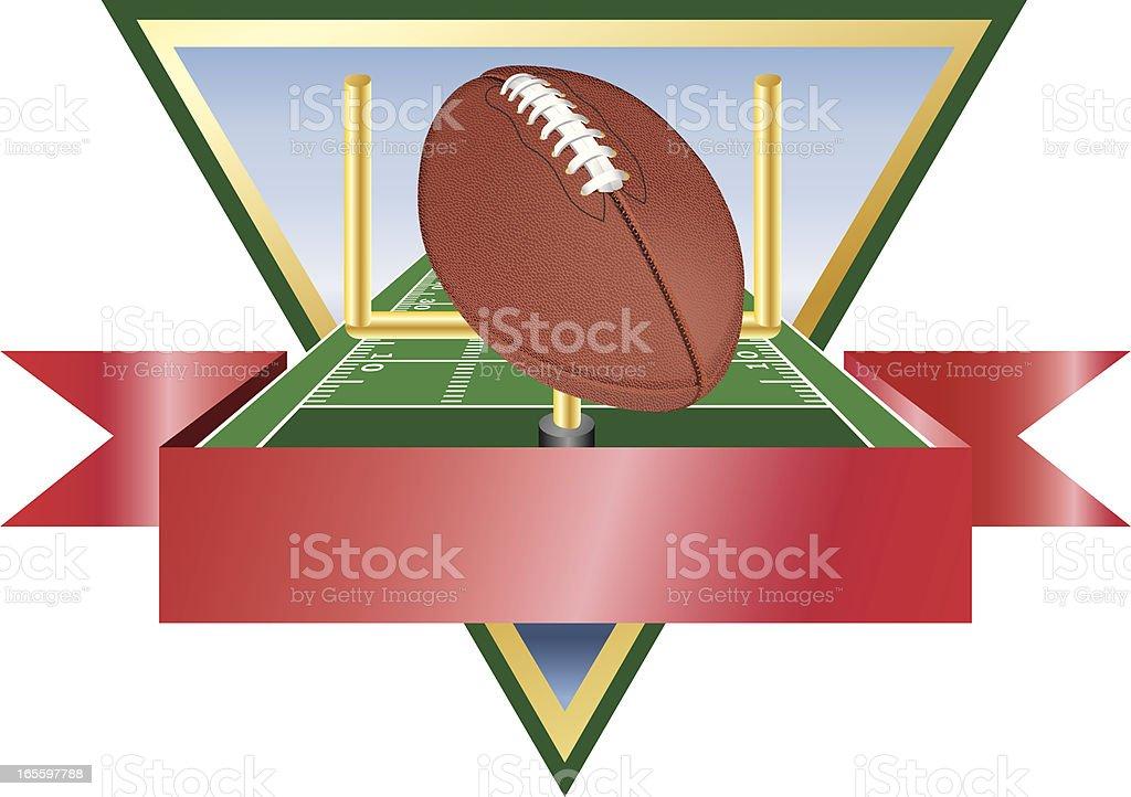 Football Award Emblem 1 royalty-free football award emblem 1 stock vector art & more images of achievement