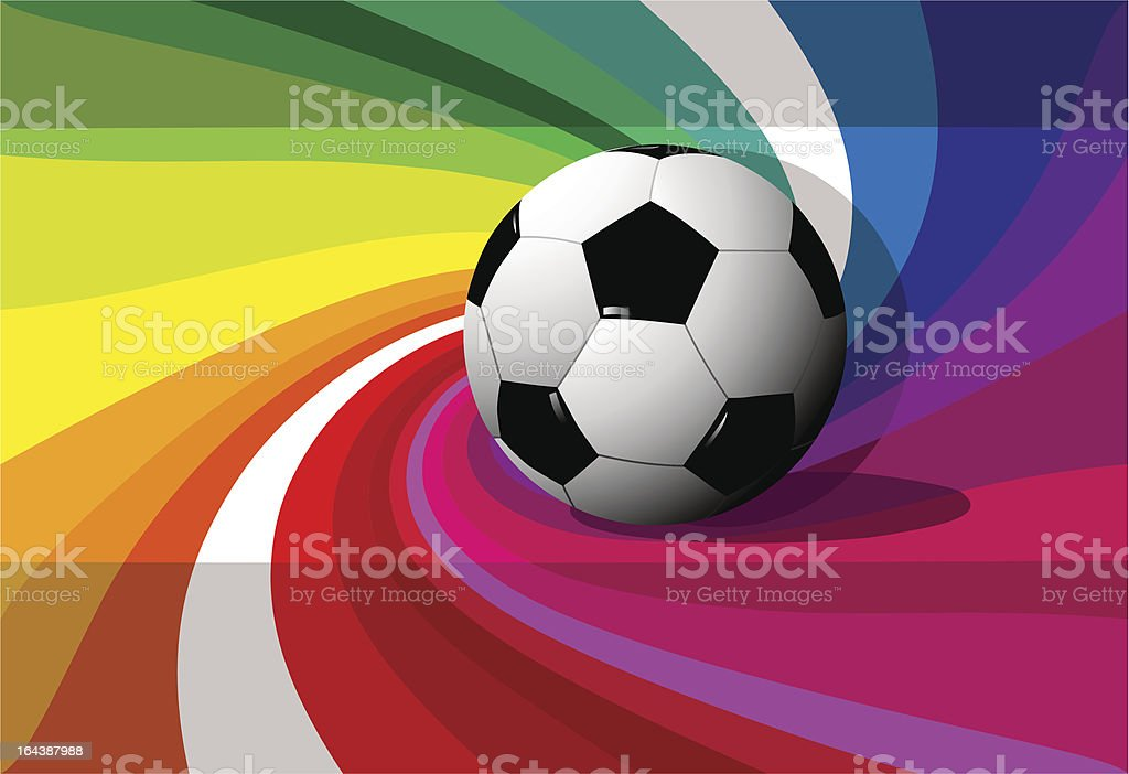 Football background royalty-free stock vector art