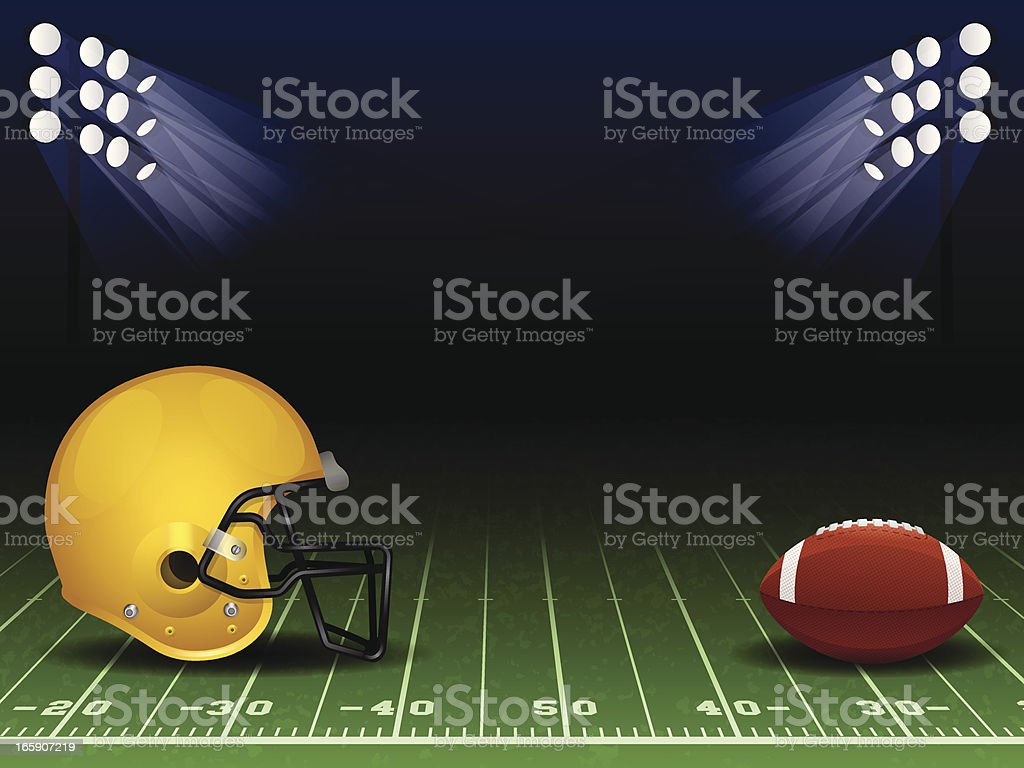 Football Background vector art illustration
