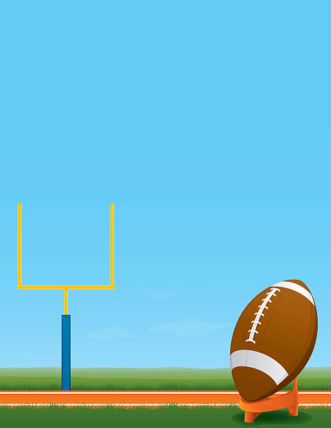 football background - high school sports stock illustrations, clip art, cartoons, & icons