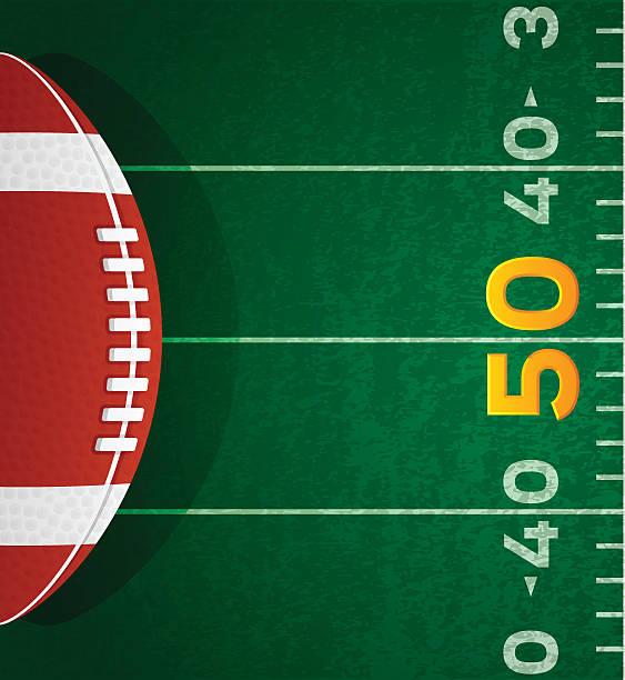 ilustrações de stock, clip art, desenhos animados e ícones de fundo de futebol americano - primeiro down futebol americano