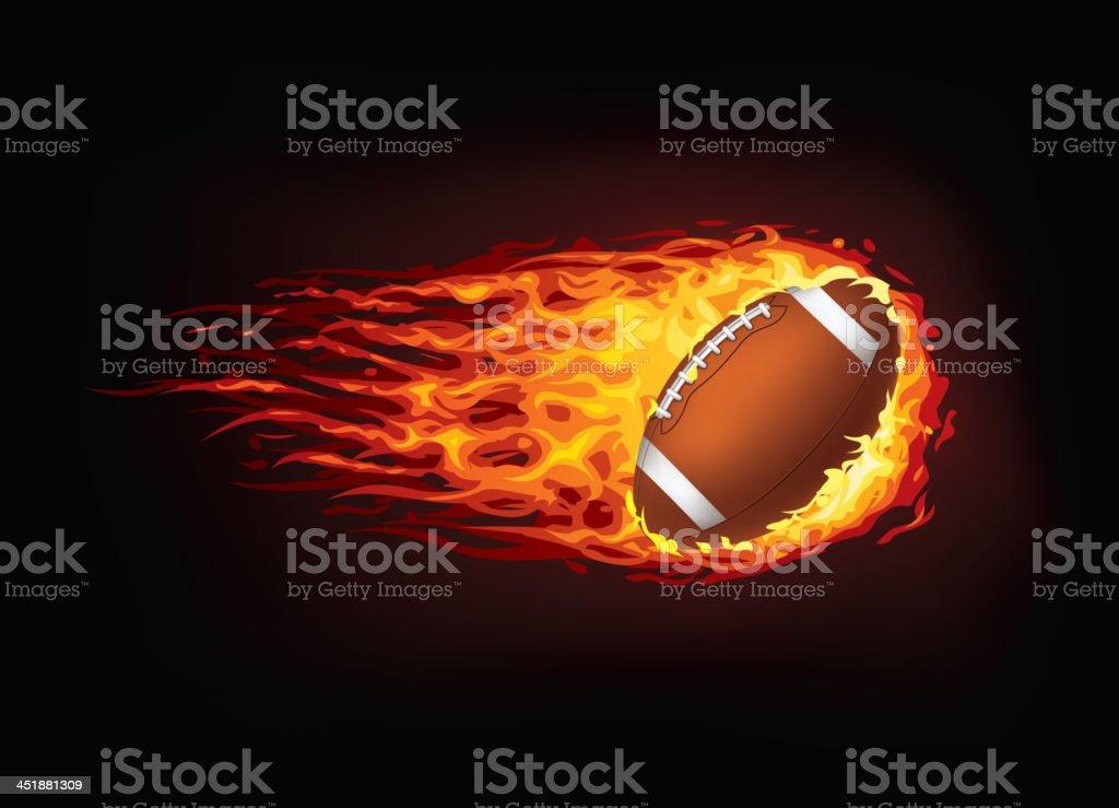 Football Ball royalty-free stock vector art
