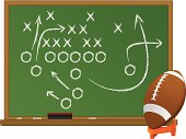 Football Chalk Board
