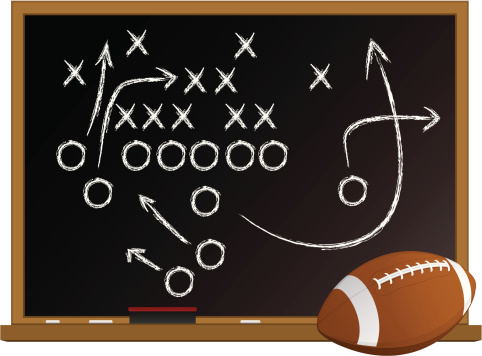 Football Chalk Board