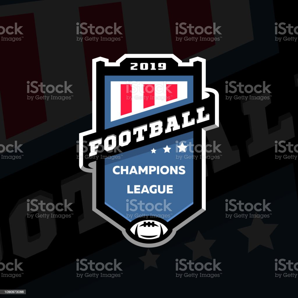 football champions league emblem logo on a dark background vector illustration stock illustration download image now istock football champions league emblem logo on a dark background vector illustration stock illustration download image now istock