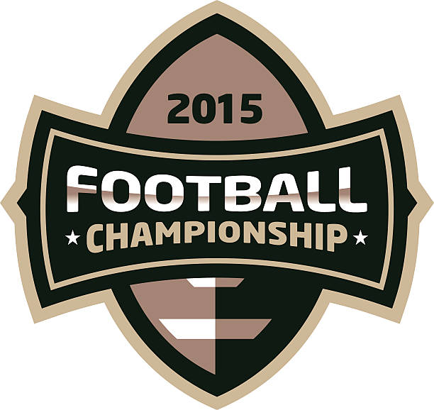 Football Championship Logo vector art illustration