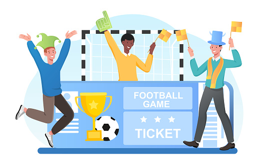 Football Championship soccer sports collage.