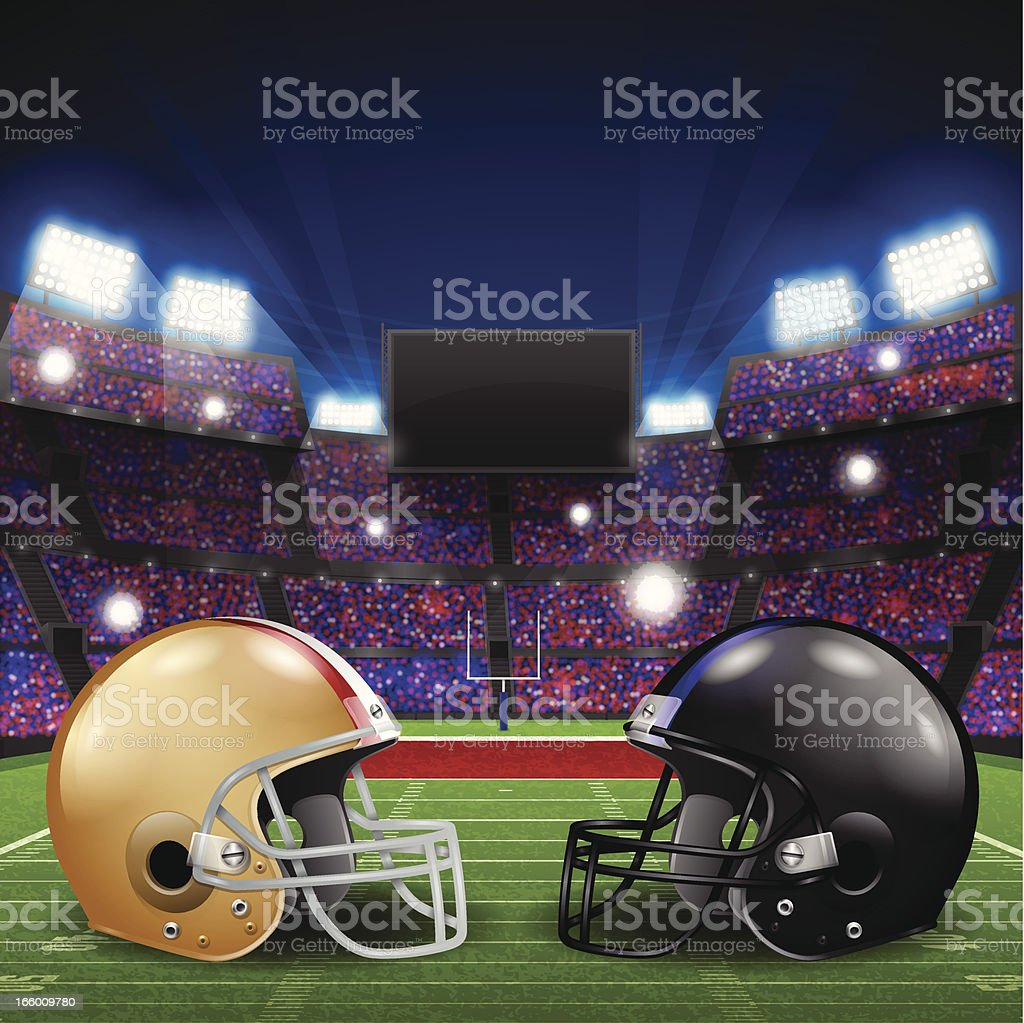 Football Championship royalty-free stock vector art