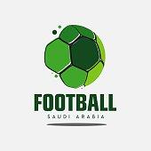 Football Club  Vector Template Design Illustration