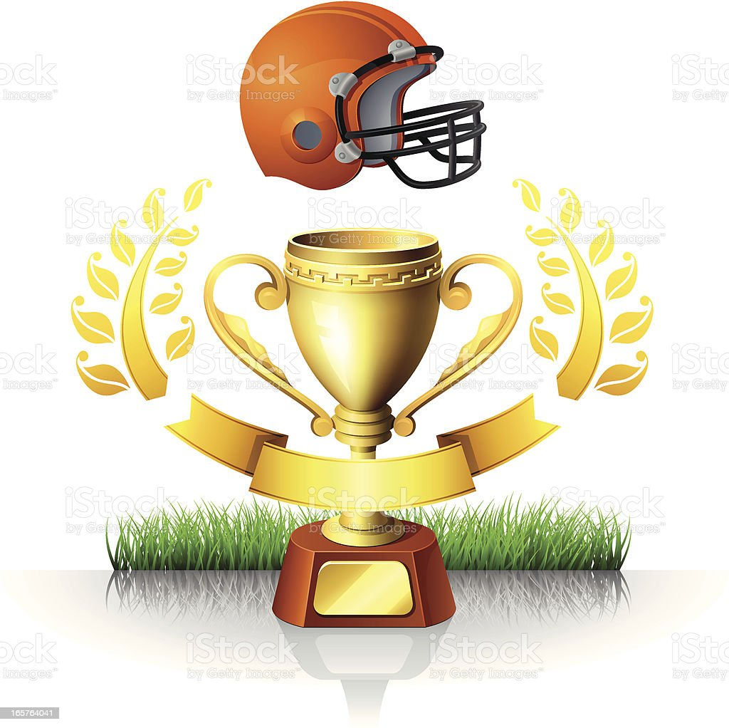 Football Cup royalty-free stock vector art