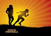 Football Design Background