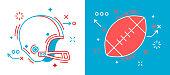 istock Football Design Elements 1039888432