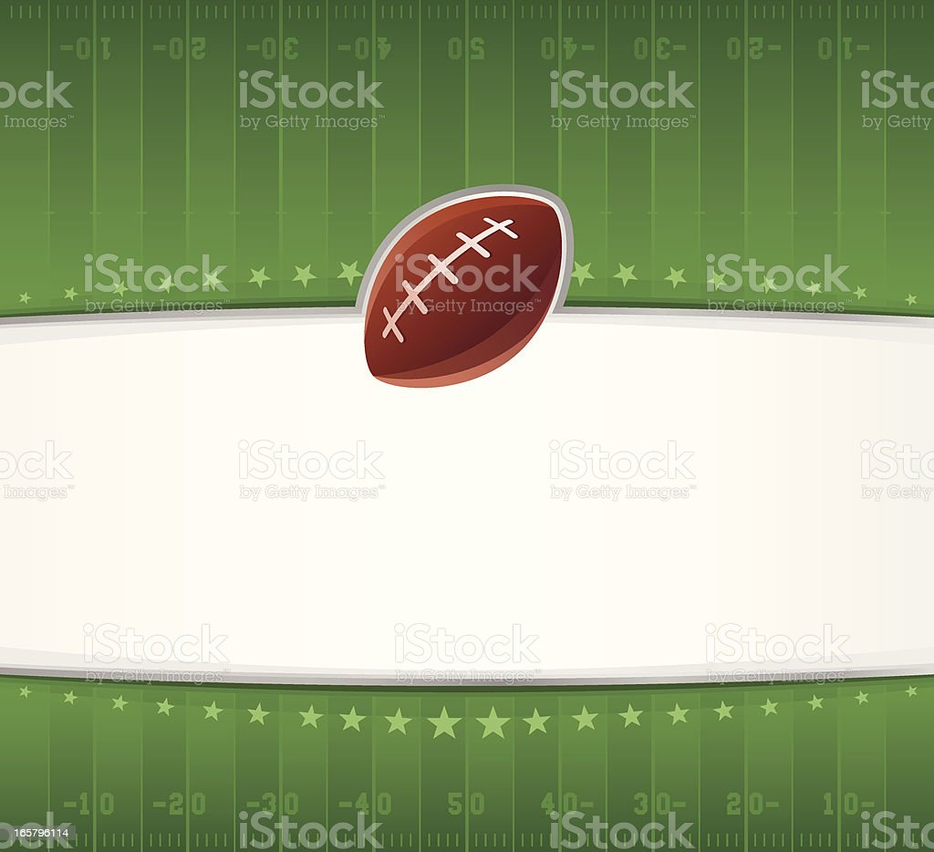 Football Field Background royalty-free stock vector art