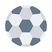 football Flat Vector Icon