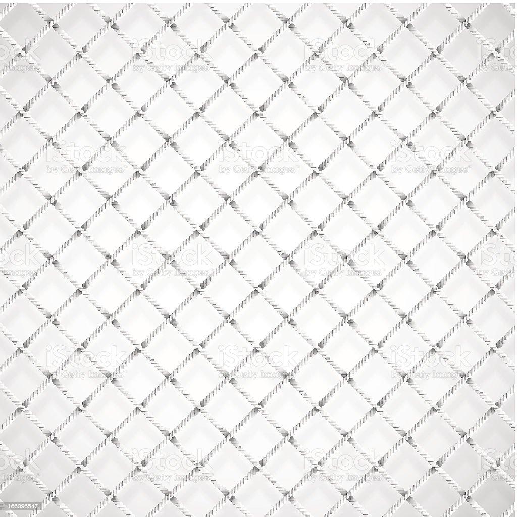 Football goal net vector art illustration