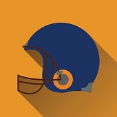 Football helm icon