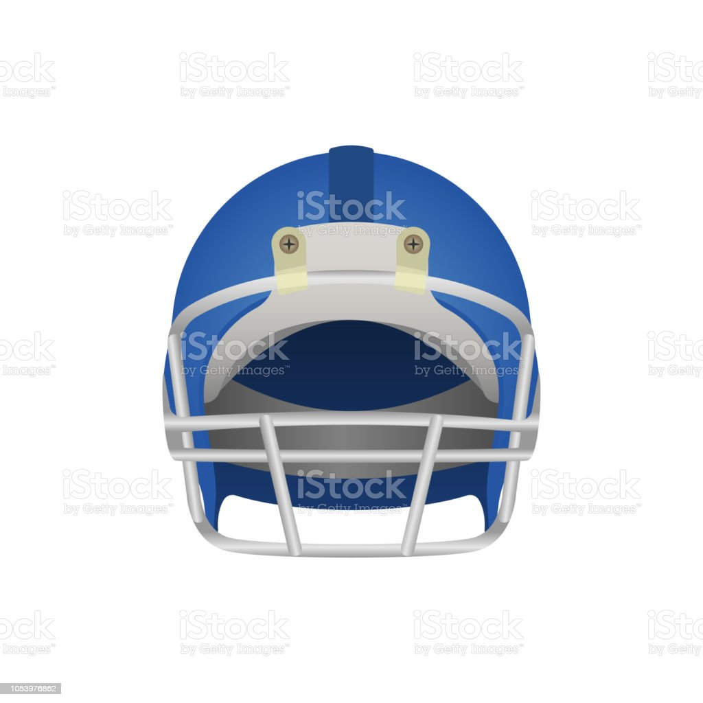 Football Helmet Drawing Stock Vector Art More Images Of American