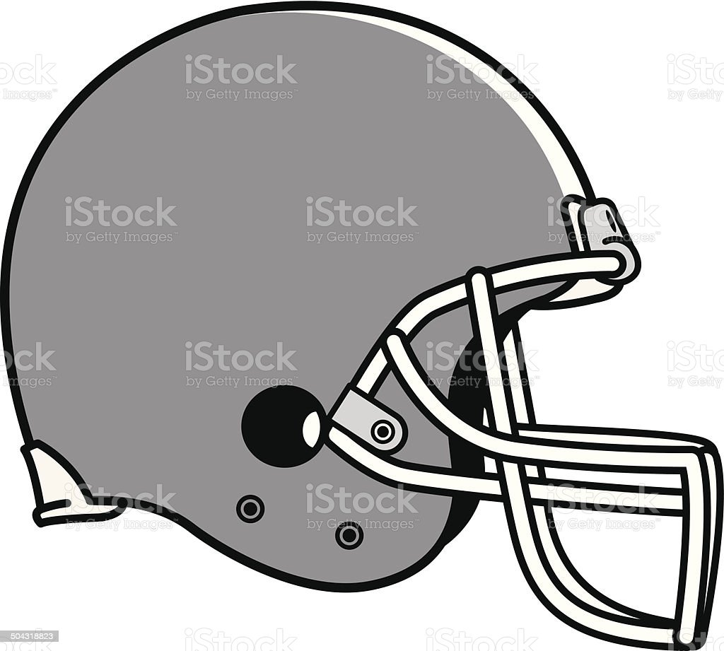 royalty free football helmet clip art vector images illustrations rh istockphoto com football helmet clipart black football helmet clipart front