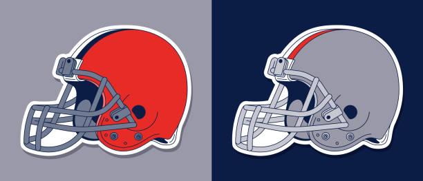 1 443 Football Helmet Illustrations Royalty Free Vector Graphics Clip Art Istock