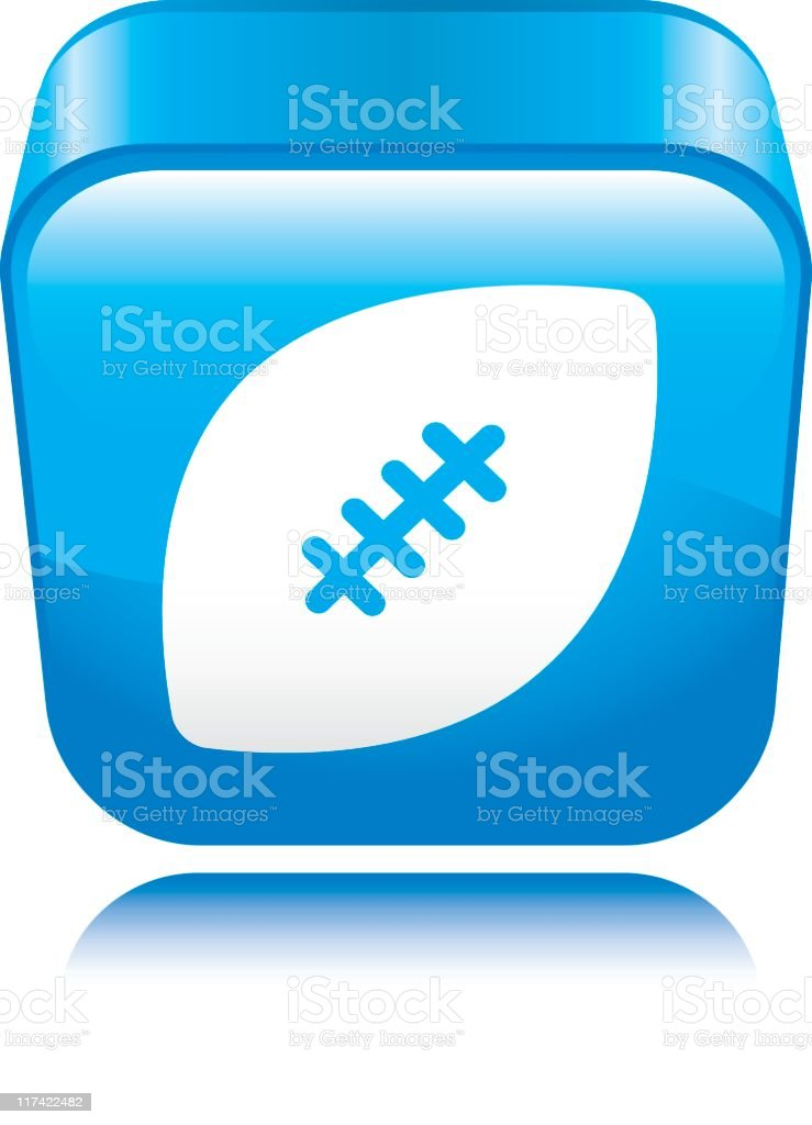 Football Icon vector art illustration