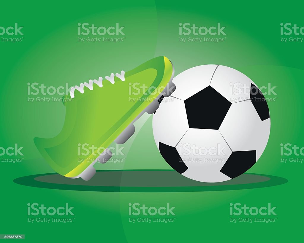 football illustration royalty-free football illustration stock vector art & more images of activity