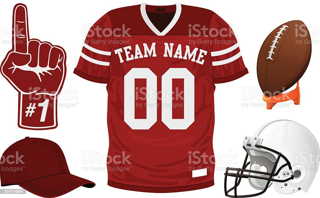 football jersey set stock vector art 524718897 | istock