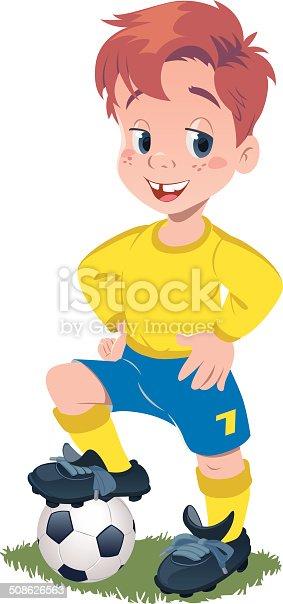 istock Football Kid 508626563