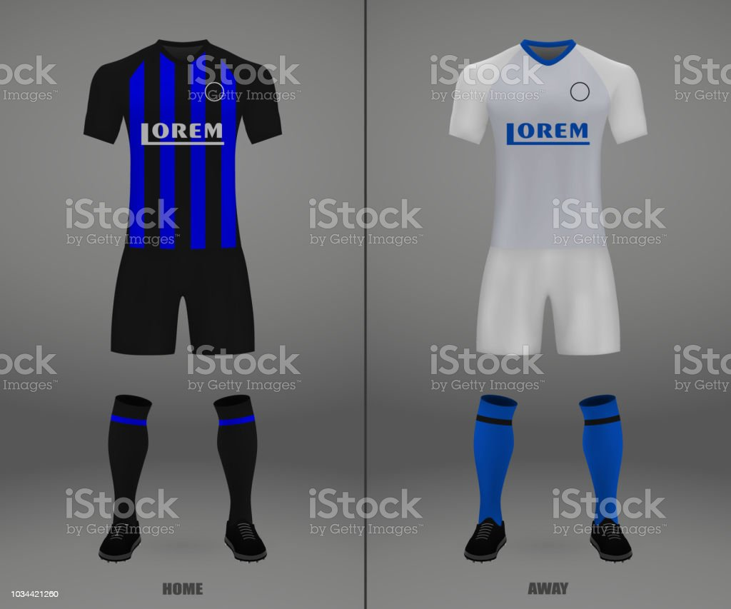 Football Kit 201819 Shirt Template Stock Vector Art   More Images of ... 03f7eb91e