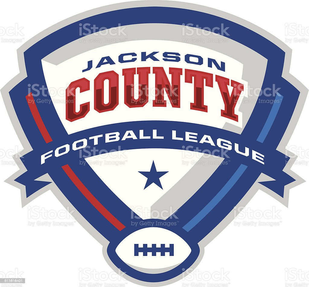 Football League Logo royalty-free football league logo stock vector art & more images of american football - ball
