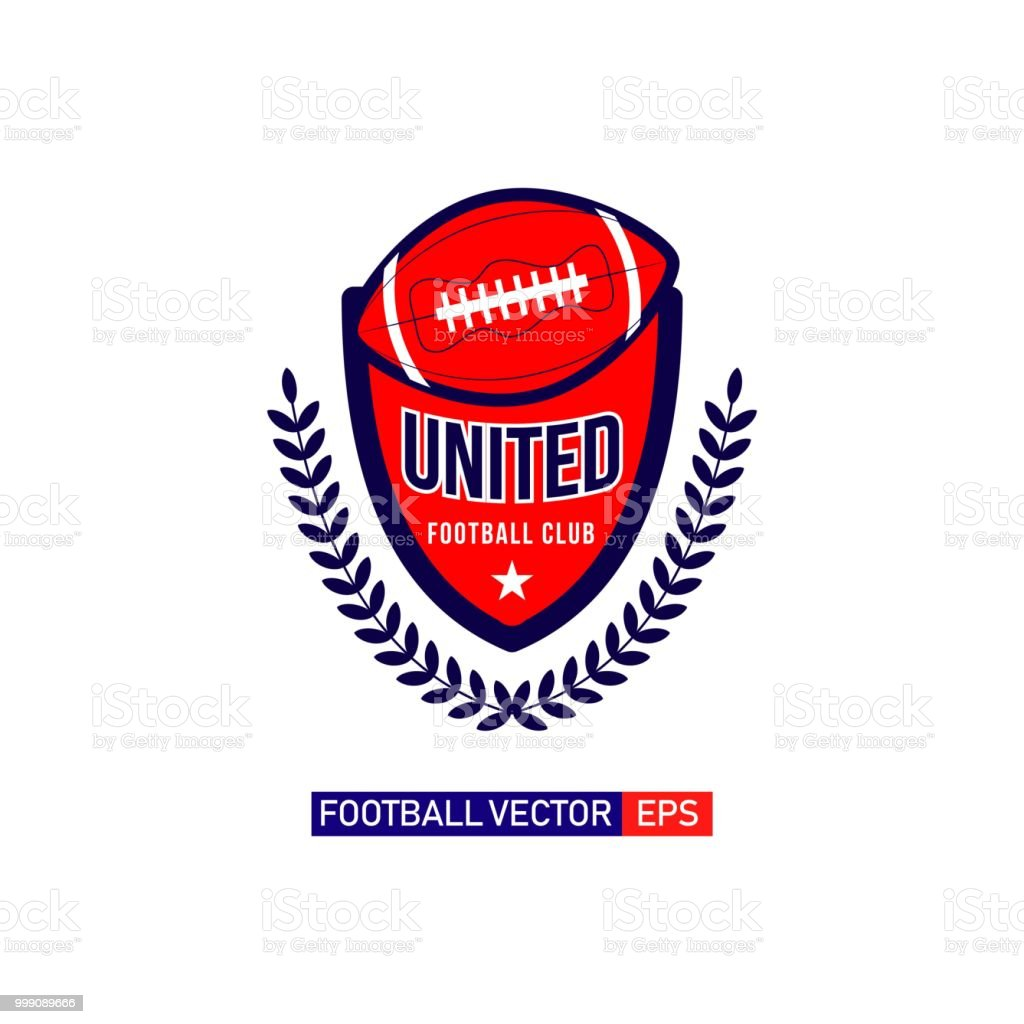 Football Logo Vector Template Design Illustration