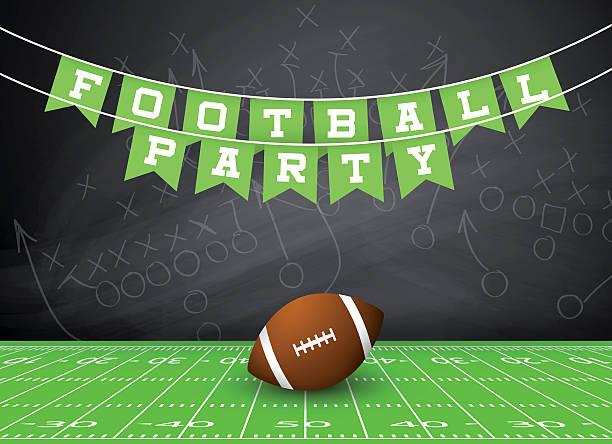 football party invitation stock vector art 503327340 istock