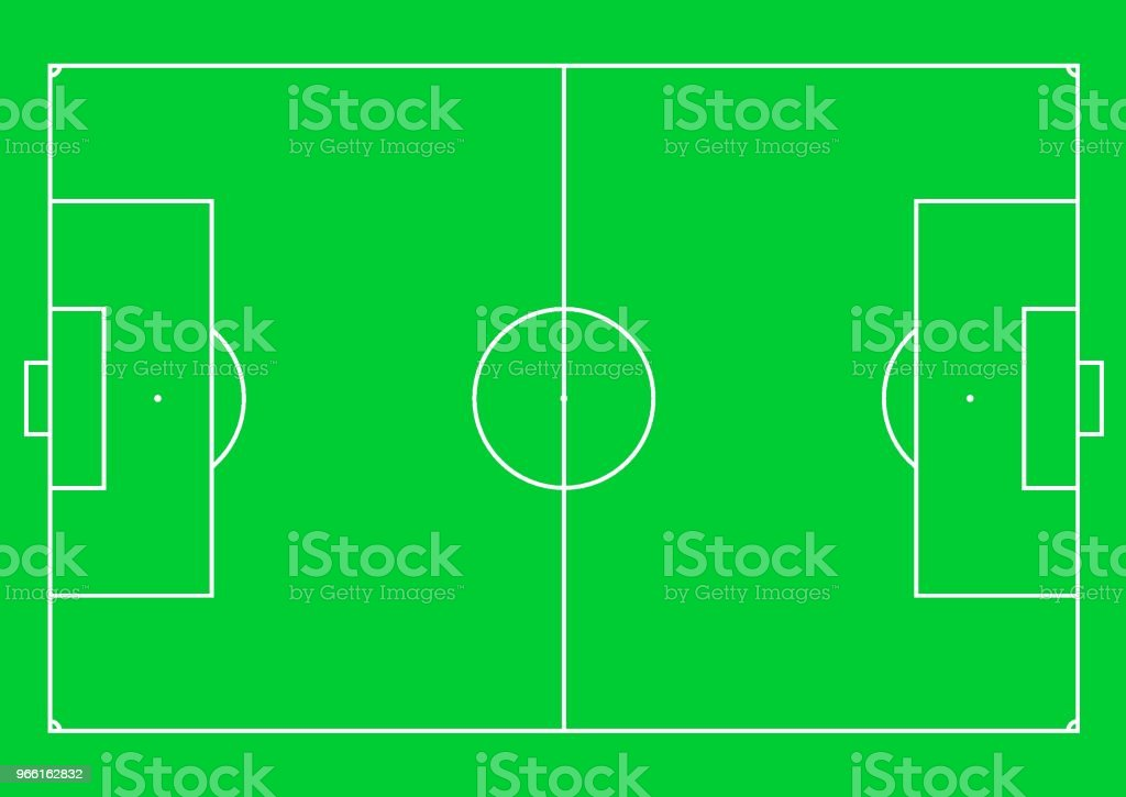 Football pitch (football field or soccer field). - Royalty-free Abstrato arte vetorial