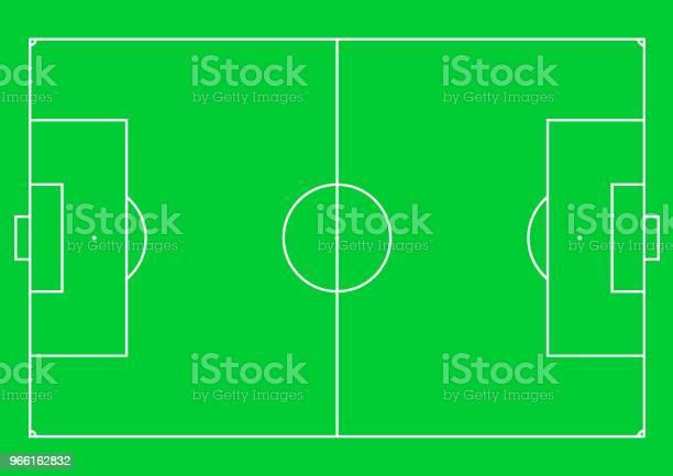 Fotbollsplan-vektorgrafik och fler bilder på Abstrakt
