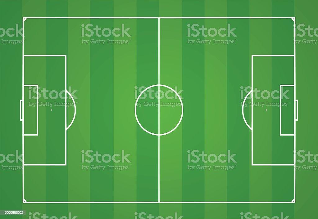 Terrain de Football illustration vectorielle terrain de football illustration vectorielle vecteurs libres de droits et plus d'images vectorielles de activité de loisirs libre de droits