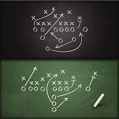 istock Football Play Diagrams 510721673
