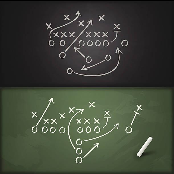 축구 재생입니다 다이어그램 - 놀기 stock illustrations