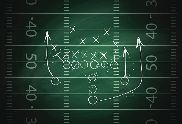 Football play Illustration contains a transparency blends/gradients. Additional .aiCS5 included. EPS 10 safety american football player stock illustrations