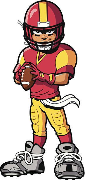Football Player vector art illustration