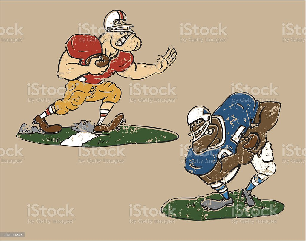 Football Players - cartoons royalty-free football players cartoons stock vector art & more images of all star