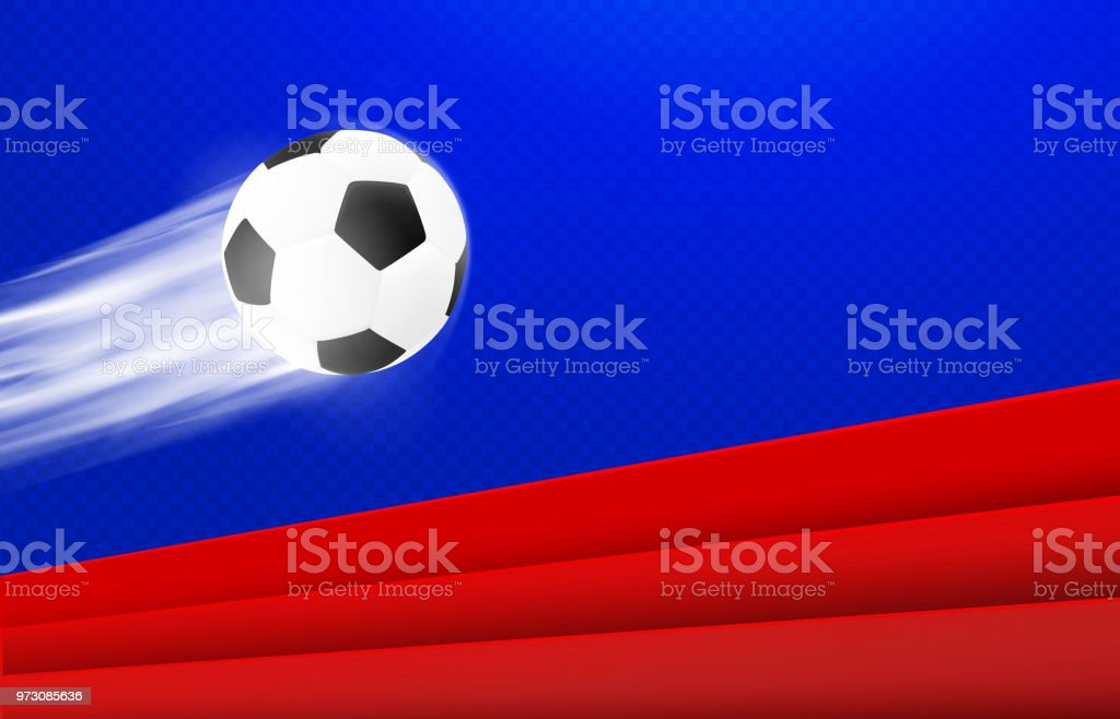 Ilustración de Diseño De Carteles De Fútbol Fondo De Vector De Color ...