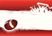 Football Red background
